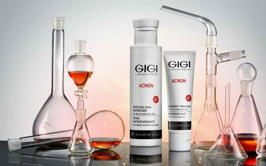 GIGI ACNON Профессиональная линия препаратов для лечения угревой сыпи.
